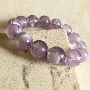 Chunky Purple Bracelet